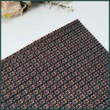 Decoración tejida bambú rojo Placemat de la tabla de la estera