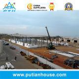 Large préfabriqué Span Steel Structure pour Warehouse