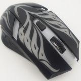 Souris de câble optique de jeu de logo fait sur commande de design ergonomique d'OEM 6D