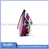 Ferro di viaggio elettrico del ferro elettrico del ferro di vapore Sf-9007 con il Soleplate di ceramica (viola)