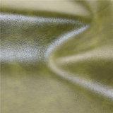 Couro sintético do sofá do PVC do couro Home durável da mobília (818#)