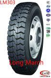1100R20 neumático radial largo del carro de marcha/de Roadlux con ECE (LM303)