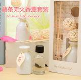 OEM del diseño del cliente Accpet 15 ml de Aromatherapy Aceite esencial difusor de la caña Juego de regalo