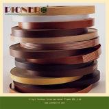Mobiliário de cor sólida e de grãos de madeira PVC Edge Band