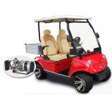 Carro de golfe híbrido de Seater do gerador 2 com o compartimento dianteiro do caminhão do armazenamento