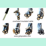 ASTM Triplex Service-Standardabsinken obenliegendes Transmision AAC/AAAC/ACSR ABC-Aluminium-Kabel