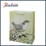 Mit Glitter Birds Ivory Paper Hand Shopping Gift Bag anpassen
