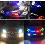 Indicatore luminoso infiammante del segnale d'allarme dell'automobile all'ingrosso con CC 12-24V, lunghezza di 18W 1080lm 6-LED del collegare: 90cm