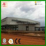 Oficina estrutural de aço do projeto da construção