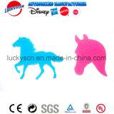Radiergummi und Schablone des Pferden-3D für Stationey Set