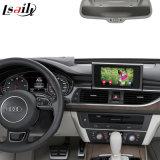 Audi A6 A6l S6のビデオインターフェイスのための人間の特徴をもつGPSの運行ボックス