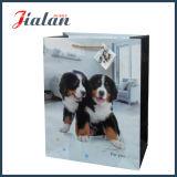 Дешевое животное напечатало прокатанный оптовыми продажами изготовленный на заказ мешок напечатанный логосом бумажный