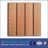 Het houten MDF van het Akoestische Comité van het Hout Akoestische Comité van het Hout van de Muur