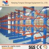 Tormento voladizo del almacenaje de acero simple o doble del almacén
