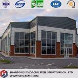 Edificio per uffici prefabbricato del blocco per grafici d'acciaio con il pannello a sandwich