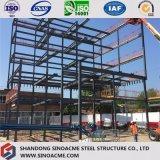 Costruzione d'acciaio della costruzione di alto aumento con gli acciai per costruzioni edili pesanti