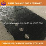 Плита карбида хромия стальная для вкладыша парашюта