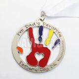 国際的な5K連続した星のイベント賞メダル新年の夜ばねの