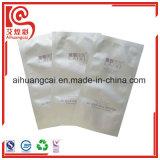 Bolso plano plástico térmico en caliente tres caras del embalaje de la máscara de la dimensión de una variable