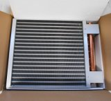 Scambiatore di calore per fuori le fornaci di legno del portello