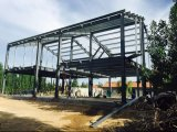 Estilo del acero de la casa H de la estructura de acero de la decoración
