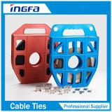 correa de alta resistencia de las bandas del acero inoxidable 150kg para los cables del manojo