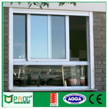Finestra di scivolamento di alluminio di Pnoc080805ls con il disegno semplice