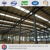Multi gruppo di lavoro prefabbricato della struttura d'acciaio della portata