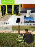 Carregador solar da forma