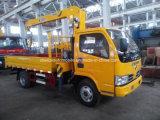 Un camion delle 6 rotelle con il prezzo del camion 5t della gru della gru 4t