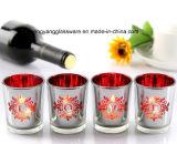 De Artikelen van de Kop van de Houder/van de Decoratie van de Kaars van de Kop van het Glas van de Kleur van het plateren/Vakantie