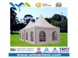 Pagoda de alumínio de anúncio ascendente fácil do PVC da exposição