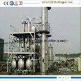 15 toneladas por a planta de destilação de borracha da refinação de petróleo do dia continuamente
