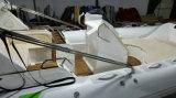 barco inflable de la costilla de 22.3feet los 6.8m, barco de Rescure, barco de pesca, barco rígido del casco, PVC y Hypalon