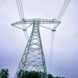 800kv線形角度の送電の鋼鉄タワー