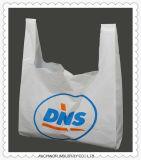 卸し売りカスタムプラスチックショッピングHDPE/LDPE Tシャツ袋