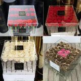 Contenitore acrilico libero di fiore con le foto
