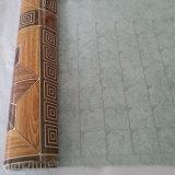 Fatto nella pavimentazione variopinta del PVC del feltro di disegni della Cina 70g