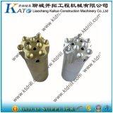 Morceau Drilling, outils à pastilles, morceau de roche 45mm R32
