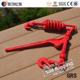 Оптовые продажи выковали связыватель нагрузки весны ручки красный распыляя цепной с крюками