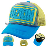 PVC Appliquestickerei Sponge Netz Freizeit Trucker Hat ( TM0723 )