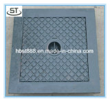 BS En124 A15 300X300の鋳鉄のマンホールカバー