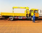 JAC 4X2 190HP 5t Hfc1131kr1のトラックによって取付けられるクレーン