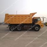 camion à benne basculante de 336/371HP 6X4 70ton Sinotruk pour le minerai avec la qualité
