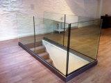 Inferriata di vetro interna o esterna dell'acciaio inossidabile/inferriata di alluminio della scala della Manica