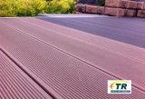 Entwurfs-Element-lamellenförmig angeordneter BodenbelagWPC Decking