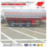30cbm Tanker Semi Trailer for Sodium Hydroxide Solution Loading