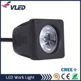 10W는 도로 크리 사람 LED 트럭 일 빛 떨어져 방수 처리한다