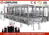 Machine de remplissage de bouteilles d'huile de table avec les bouteilles en verre
