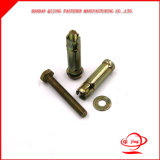 Hex Nut Expansion Bolt Sleeve Anchors M10 X 110mm, Sleeve Anchors